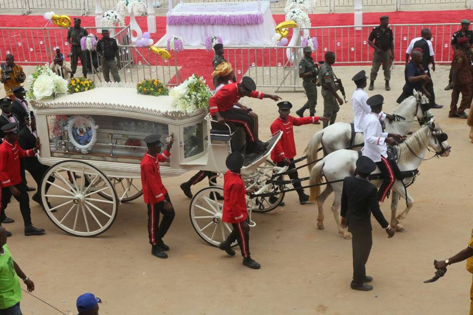 Late Deaconess Margaret Umahi laid to rest