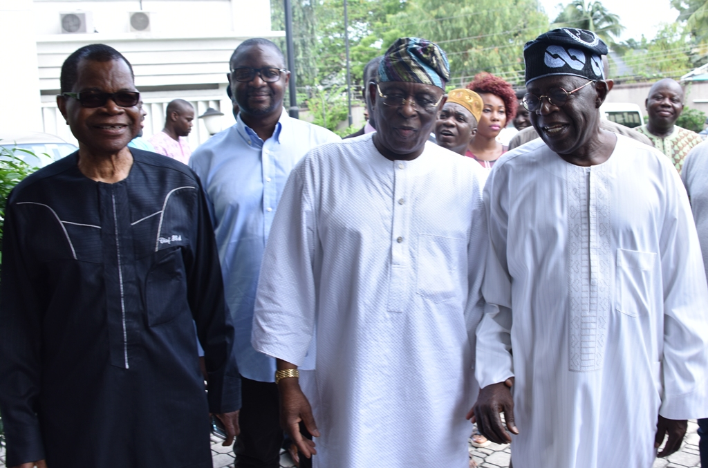 S'WEST APC LEADERS RESOLVE DIFFERENCES, PLEDGE TO MOVE NIGERIA FORWARD …As Osoba Rejoins APC …Tinubu, Aregbesola, Ajimobi, Ambode, Others Meet In Lagos
