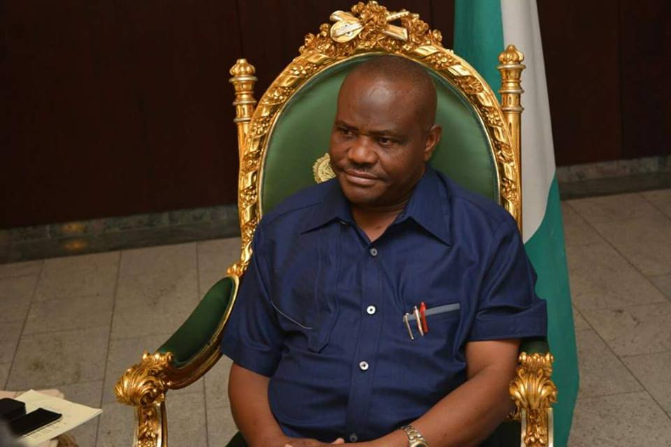 GOVERNOR WIKE CONDEMNS BLOWING UP OF PIPELINES