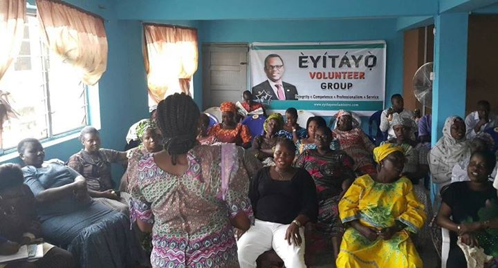AKURE MARKET WOMEN DRUM SUPPORT FOR EYITAYO