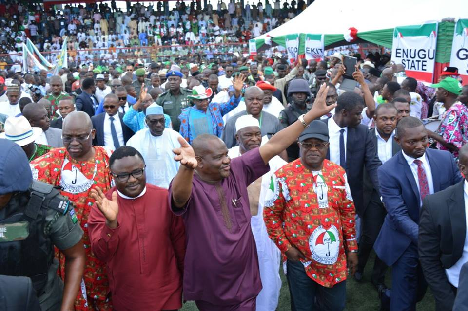 GOVERNOR WIKE EXPLAINS WHY THE PDP HAD TO LET MODU-SHERIFF GO
