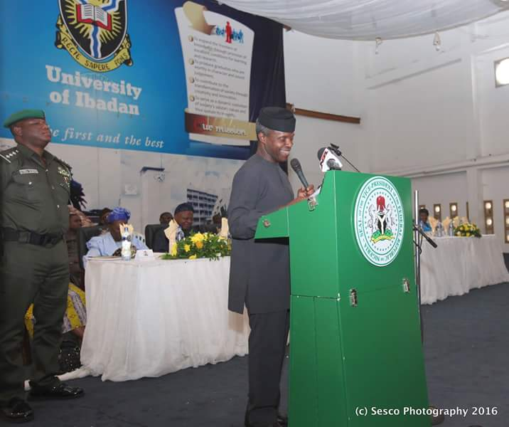 CLOSE TO $15B, MORE THAN HALF OF NIGERIA'S CURRENT FOREIGN RESERVES, WAS LOST TO FRAUDULENT SECURITY EQUIPMENTS SPENDING  *VP SAYS NIGERIAN ELITE ABANDONED THE NATION'S ETHICAL SPACE