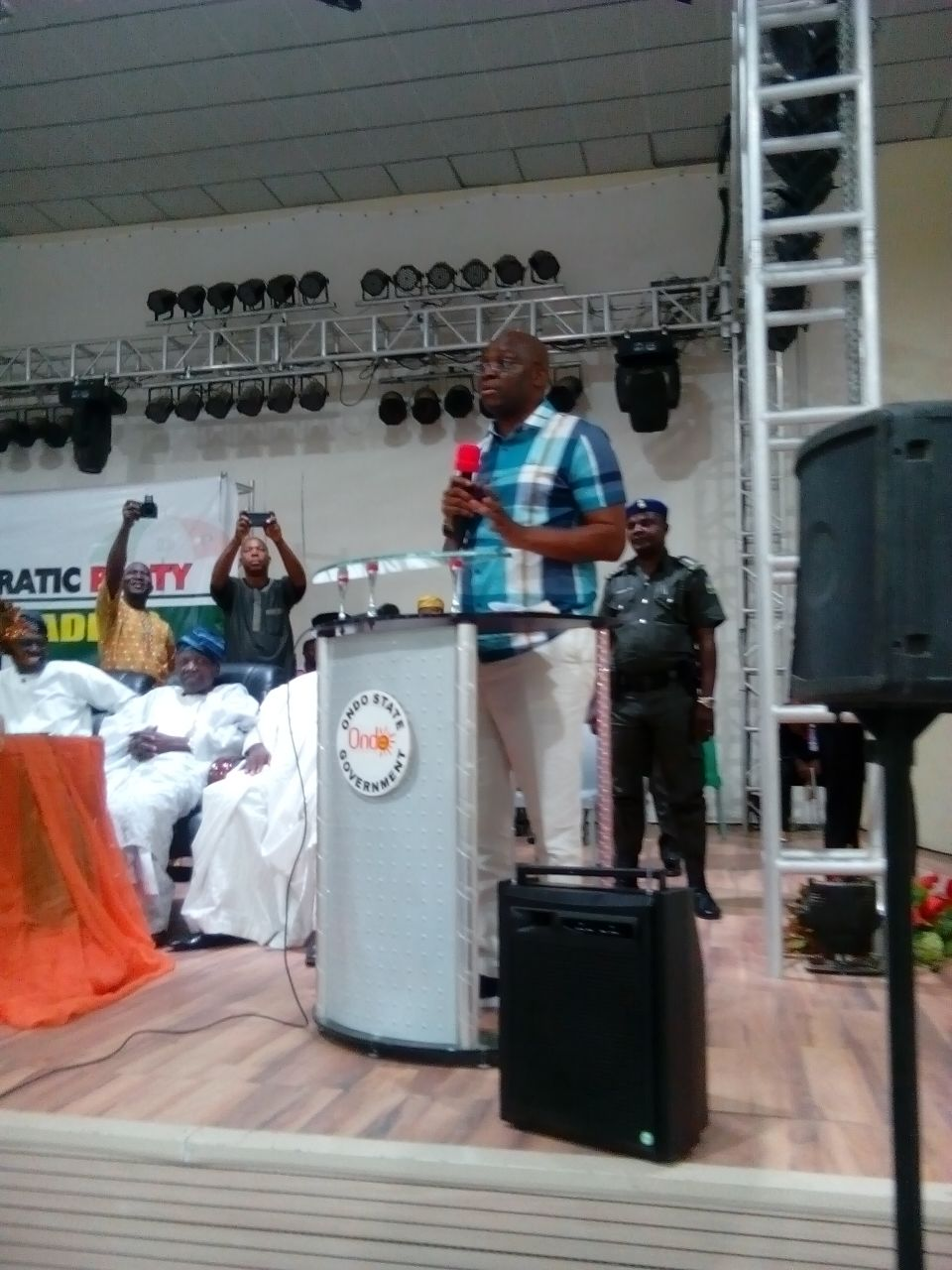 I have no grudge against Mimiko, George – Fayose