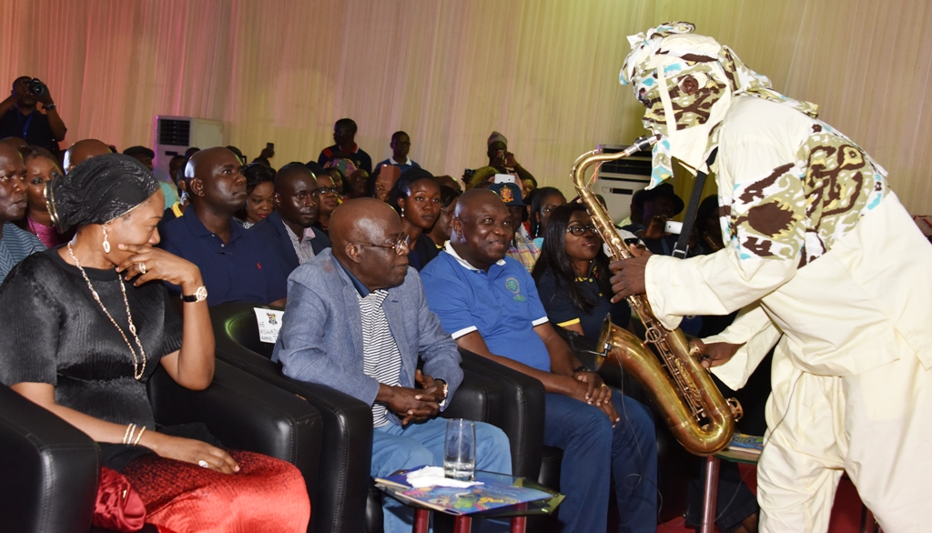 LAGOS IS AFRICA'S TRUE CAPITAL OF ARTS, ENTERTAINMENT- AMBODE  …As Tinubu, Akiolu, Osoba, Duke, Jermaine Jackson, Others Grace Jazz Concert