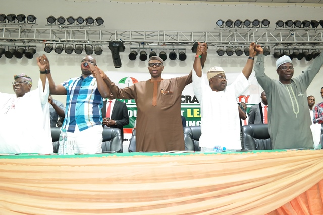 COMMUNIQUE ISSUED AT THE PEOPLES DEMOCRATIC PARTY, SOUTH WEST LEADERS MEETING HELD AT THE ONDO STATE INTERNATIONAL CULTURE AND EVENTS CENTRE (THE DOME) AKURE, ONDO STATE, ON 4TH MAY, 2016.