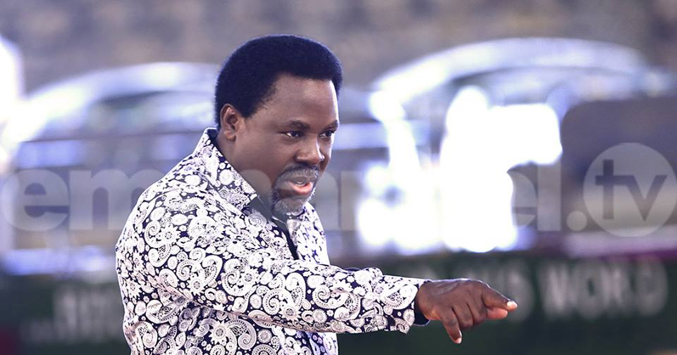 TB Joshua's Message To Bayelsa Governor Elect David Lyon