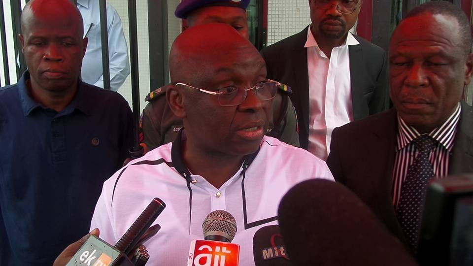 Fayose condemns police invasion of Kwakwanso's house