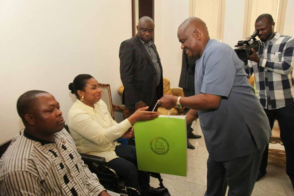 GOVERNOR WIKE TO CREATE EMPLOYMENT FOR PHYSICALLY CHALLENGED PERSONS