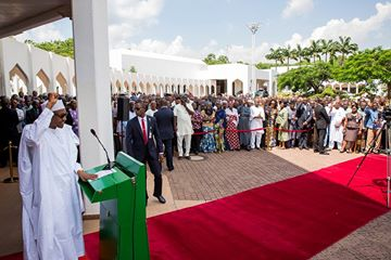 WAR AGAINST CORRUPTION WILL BE VIGOROUSLY SUSTAINED – PRESIDENT BUHARI