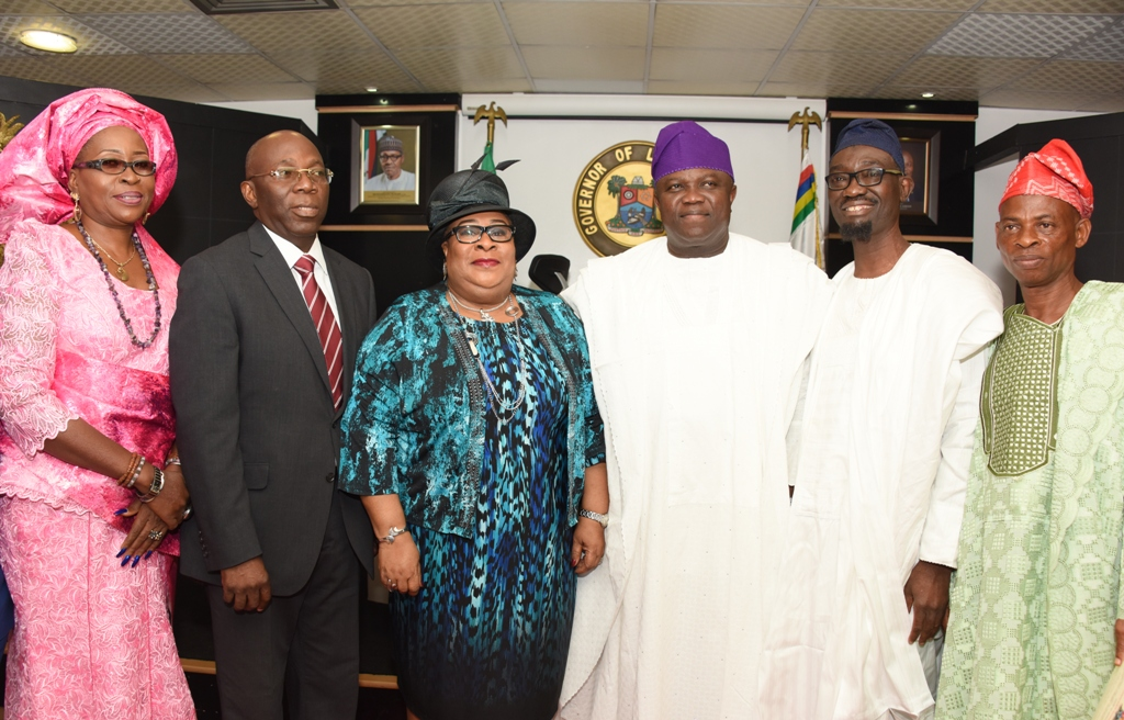 Live above board, be fair to all, Ambode tells LASIEC …Swears-in Chairman, Members Of Commission