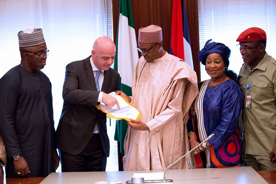ANTI CORRUPTION: PRESIDENT BUHARI WELCOMES FIFA REFORMS
