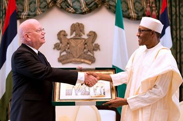 PRESIDENT BUHARI COMMENDS U.S HISTORIC ROLE IN DEEPENING DEMOCRACY IN NIGERIA