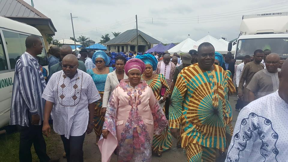 DAME PATIENCE JONATHAN'S GRAND ENTRY TO OKRIKA