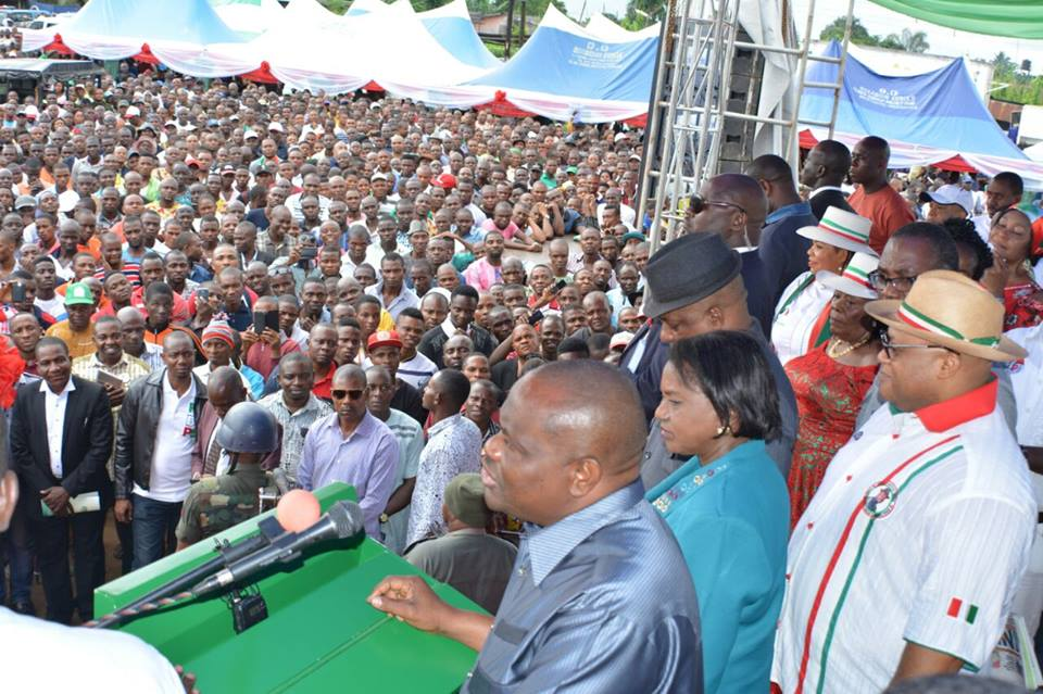 I WILL NEVER PLAY POLITICS WITH THE DEVELOPMENT OF OGONI LAND SAYS GOVERNOR WIKE