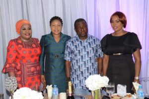 With Mrs Ginika Tor, CEO Accolade Events