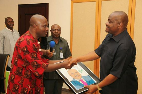 WORK TOWARDS THE SUSTENANCE OF DEMOCRACY, GOVERNOR WIKE TELLS JOURNALISTS