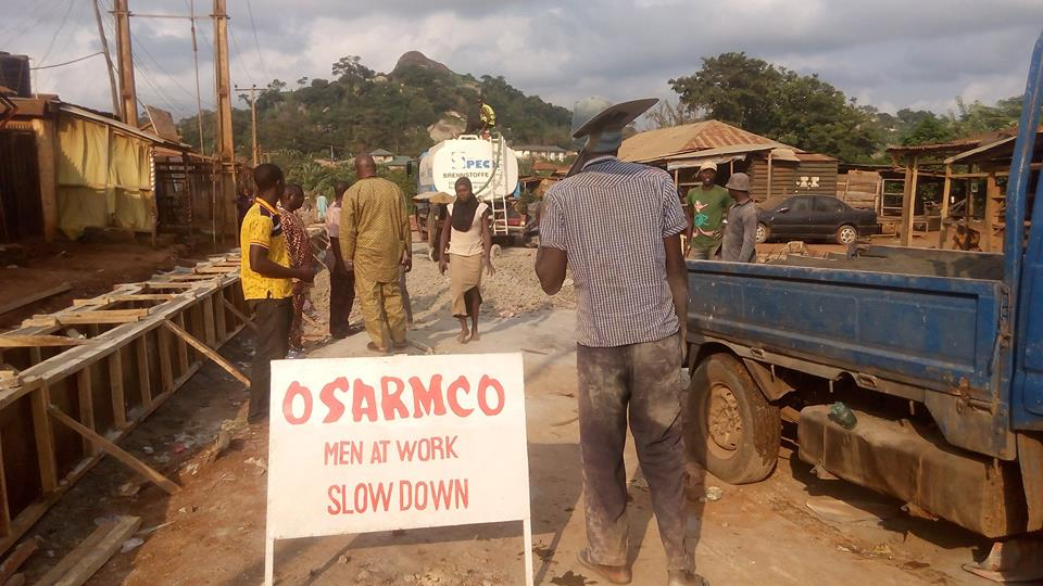 ODSG Begins Work on Igoba Road