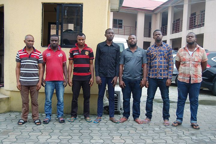 EFCC Arrests Fake Lamorde, Youth Corper and Five Others for Internet Scam