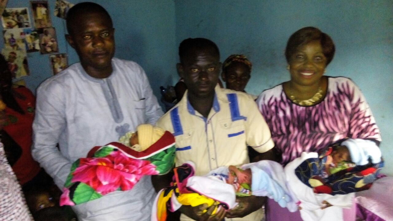 ABIYE SAFE MOTHERHOOD OF GOVERNOR MIMIKO GETS SUPPORT FROM THE LOCAL GOVERNMENT CHAIRMAN