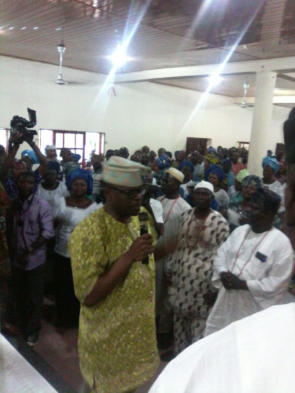 Jegede Transversed Akoko World with Messages of Hope and Ability to Deliver Dividends of Democracy