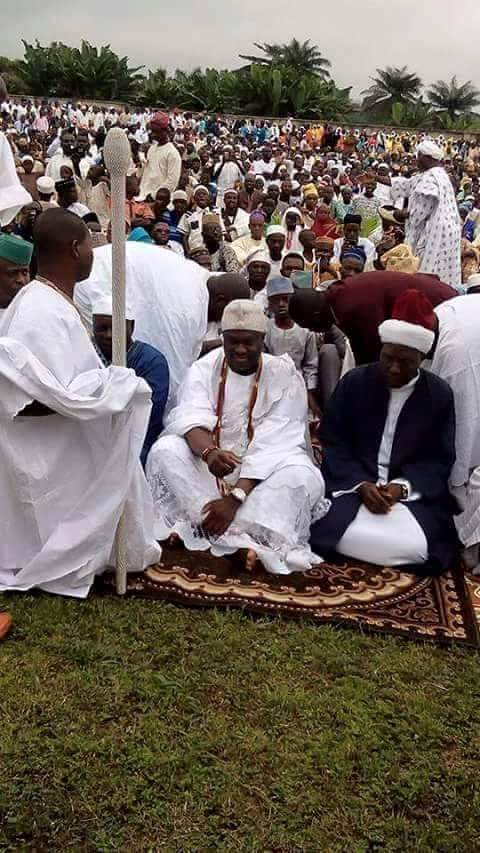 Ooni calls Islam a religion of peace, charges Muslims to emulate prophet Muhammed