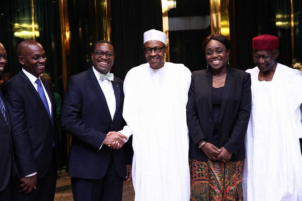 WE'LL GET OUT OF OUR PROBLEMS, PRESIDENT BUHARI ASSURES AFRICAN DEVELOPMENT BANK
