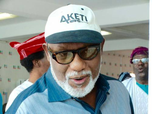 Ondo APC Guber Ticket: Akeredolu calls for calm … Says primary election has not been cancelled