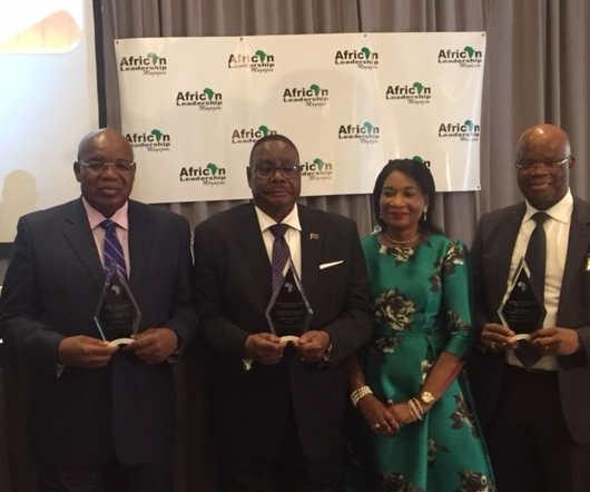 Ambode receives best performing Nigerian Governor award in New York  …Vows To Retain Lagos As Investors Haven