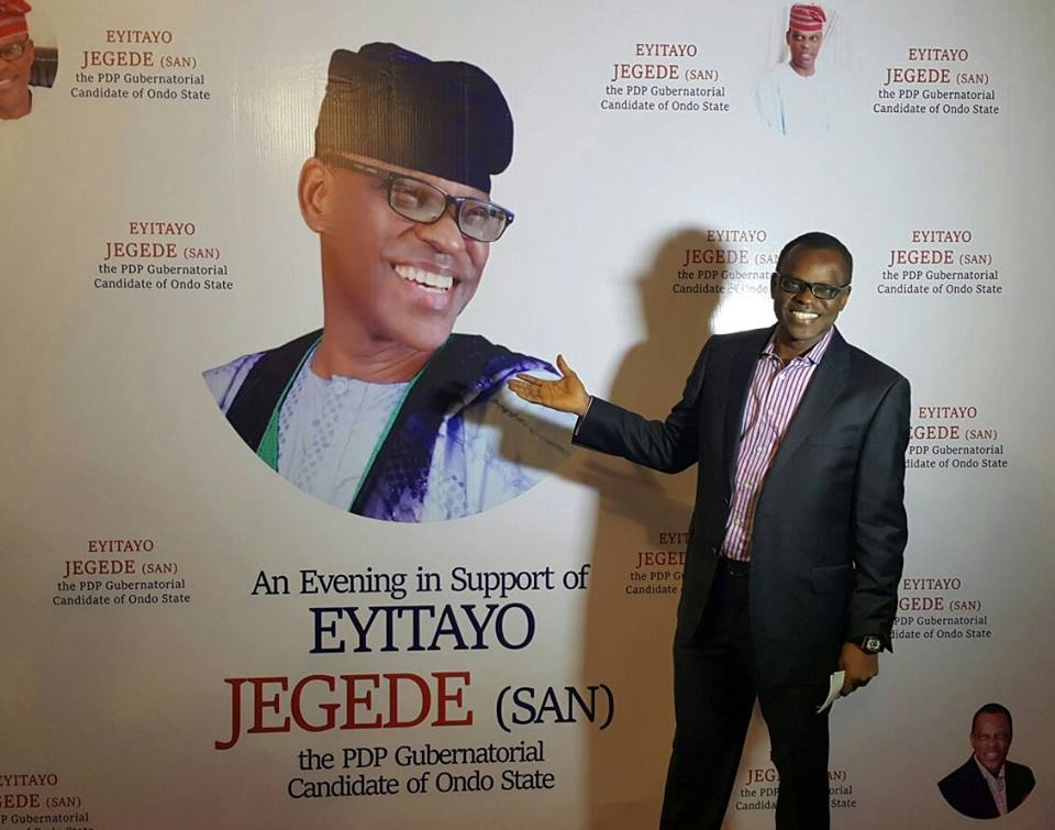 My candidature stands – Jegede …As citizens, allies, fund ambition