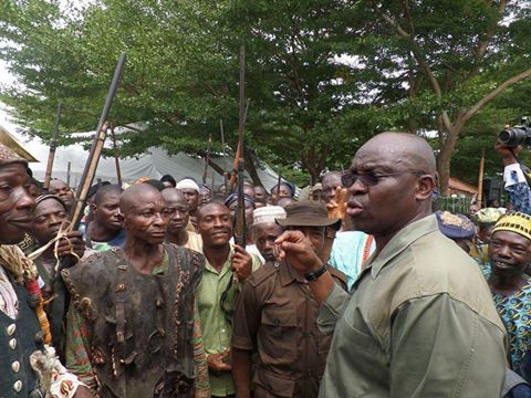 Full text of Fayose's address at the inauguration of grazing enforcement marshalls