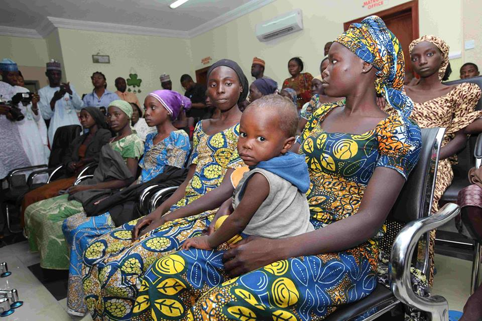 The whole country has been waiting for your release, VP tells released 21 Chibok girls