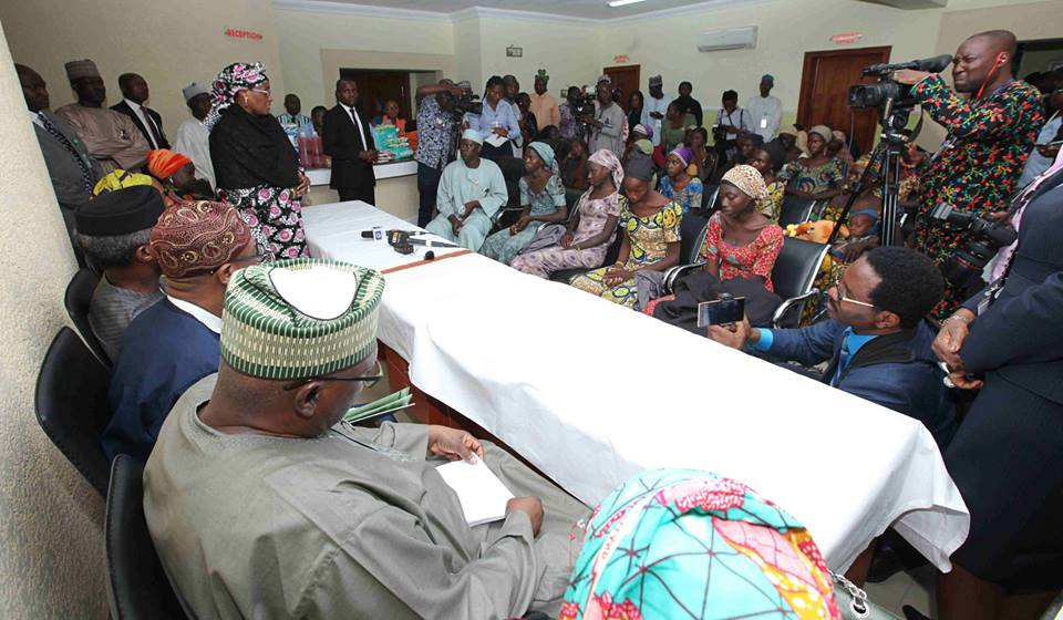 MORE CHIBOK GIRLS WILL REGAIN FREEDOM, PRESIDENT BUHARI ASSURES AS NEGOTIATIONS CONTINUE