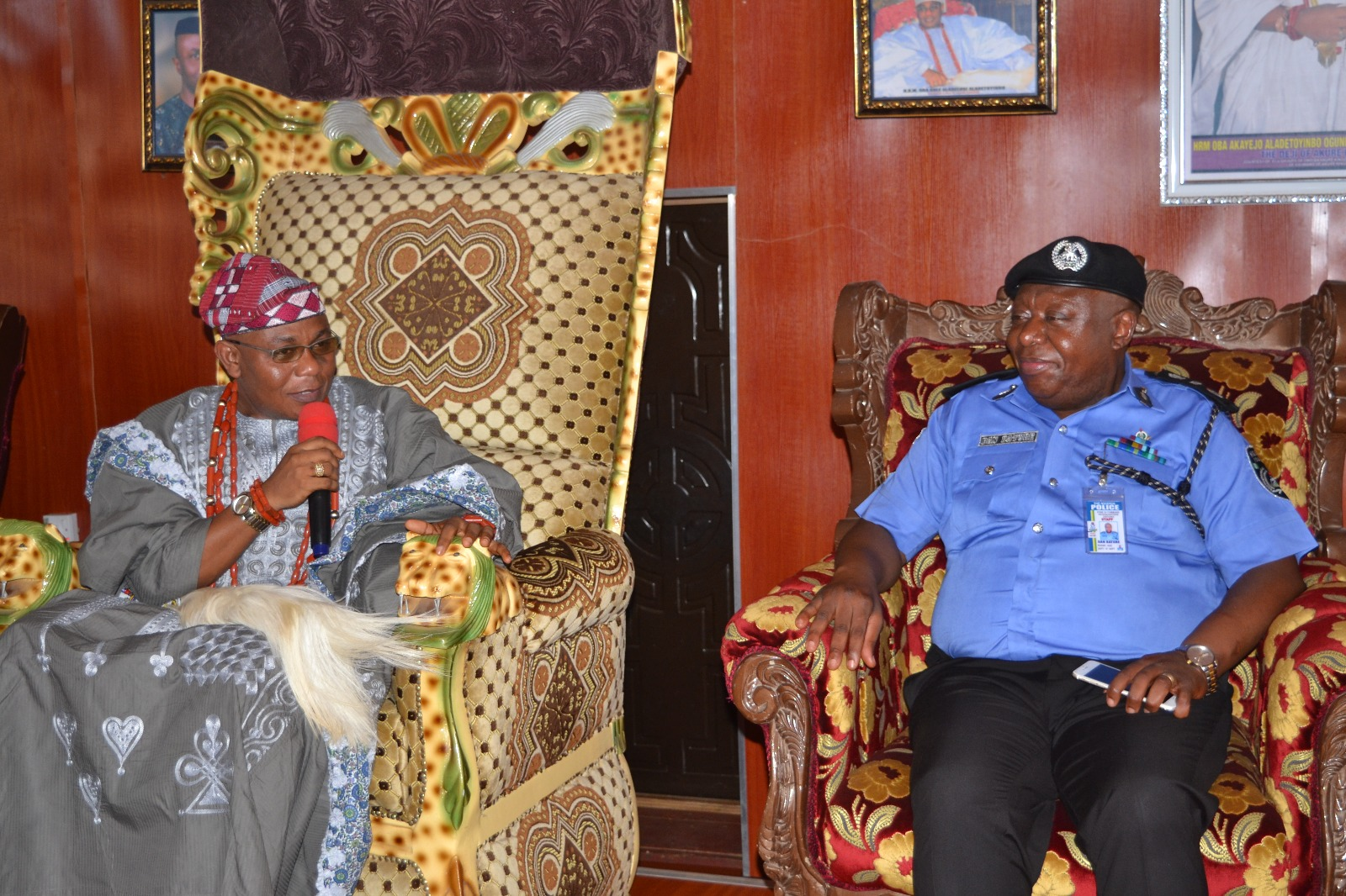 You must remain impartial in the Novermber 26 Election – Deji of Akure charges Police
