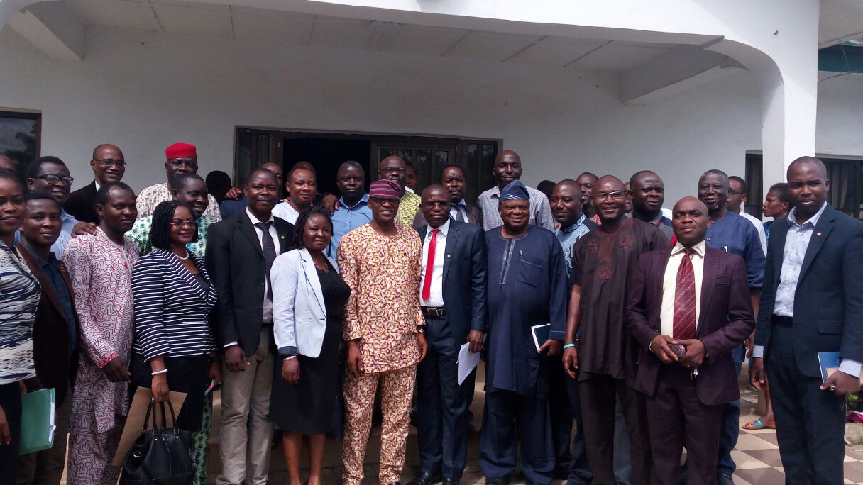 Ondo health workers back, Jegede * Says Gov Mimiko has done well in health sector