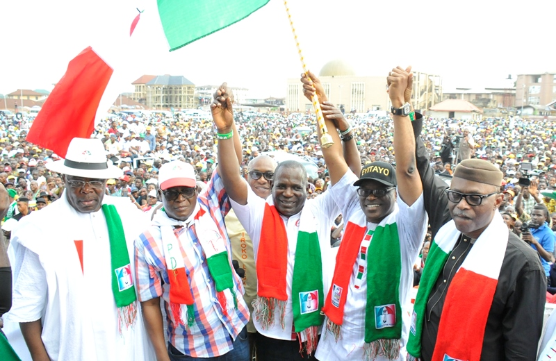 Ondo PDP governorship flag off: Jegede to make economy sole philosophy