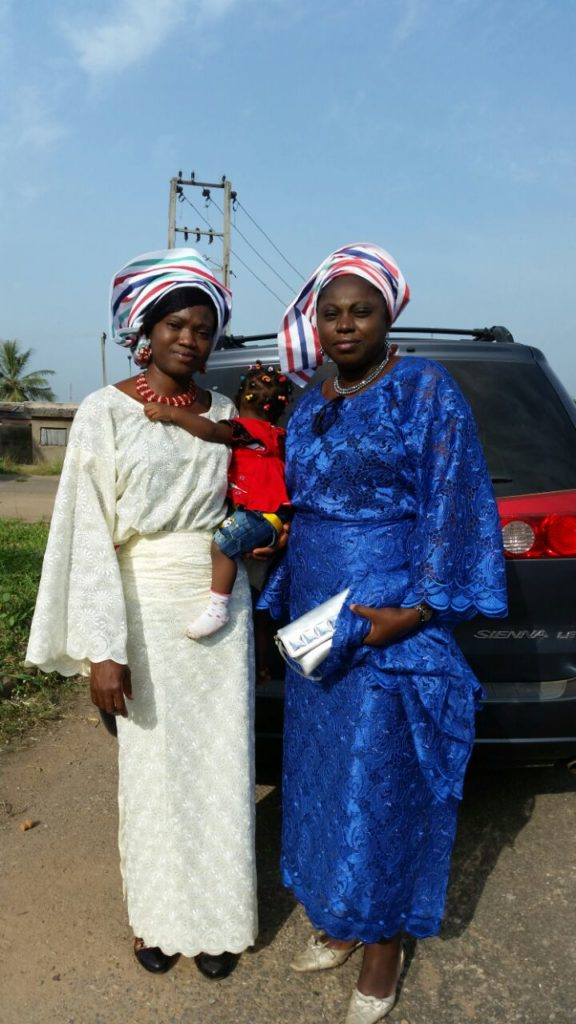 Mrs. Ovirih and Mrs. Olufokunbi at the event.