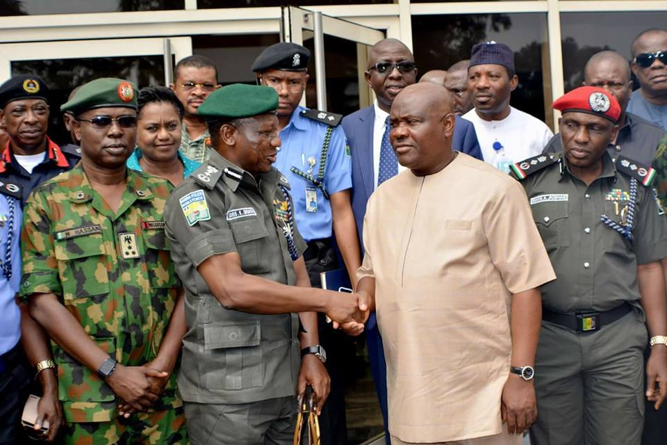 GOVERNOR WIKE TO IGP: YOUR ILLEGAL WITHDRAWAL OF MY CSO IS AN EMBARRASSMENT TO DUE PROCESS