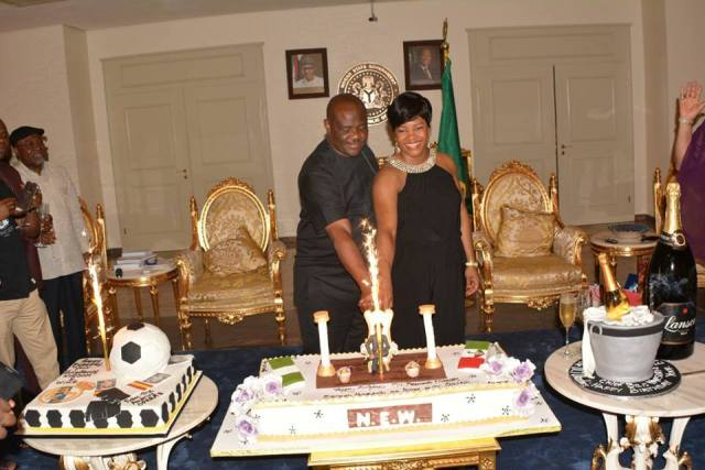 Unique Birthday For Governor Wike