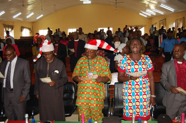 OSUSTECH holds 2nd Xmas Carol as VC assures of two more faculties