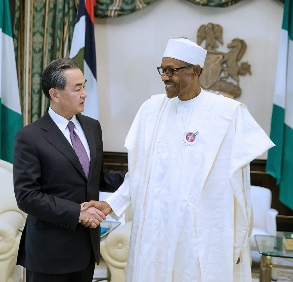 WE'LL HONOUR ALL AGREEMENTS WITH CHINA, PRESIDENT BUHARI ASSURES