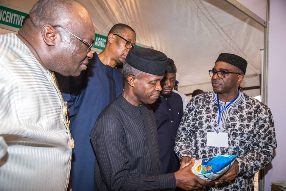 WE WILL DO ALL WE CAN TO SUPPORT LOCAL PRODUCERS & MANUFACTURERS — AG. PRESIDENT OSINBAJO