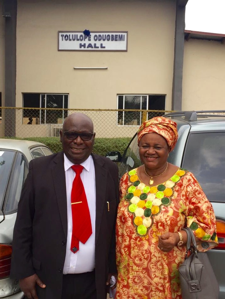 Legacy Project Named in Honour of Prof. Tolu Odugbemi at UNILAG – University of Lagos staff School Hall renamed 'Tolulope Odugbemi Hall'