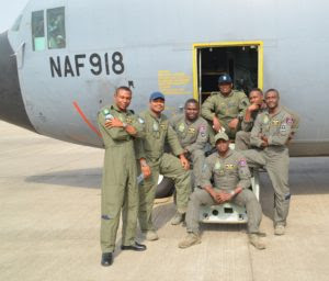 Finally NAF Deploys Troops for Gambia Operation