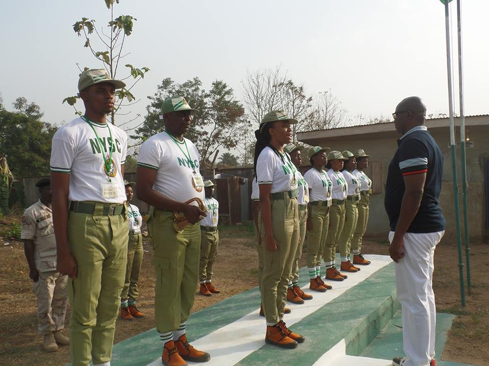 Fayose Advocates N50,000 Corpers Allowance, Donates N20m, Official Car to Ekiti NYSC