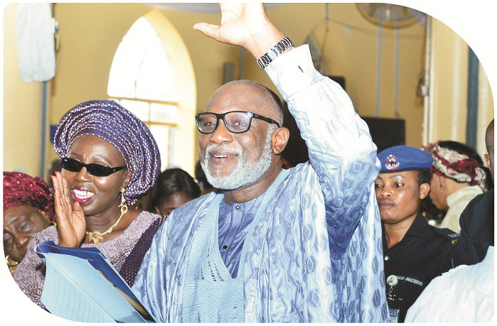 Akeredolu thanks Ondo people, promise to serve them better