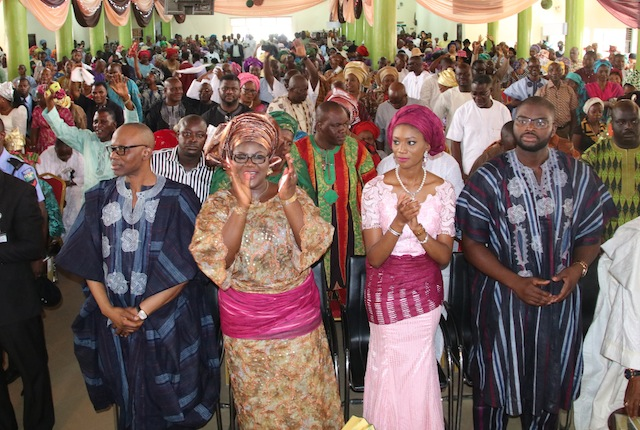 Photos: Former Governor of Ondo state, Dr Olusegun Mimiko' s Special Thanksgiving Service at RCCG, Power Sanctuary, Ondo