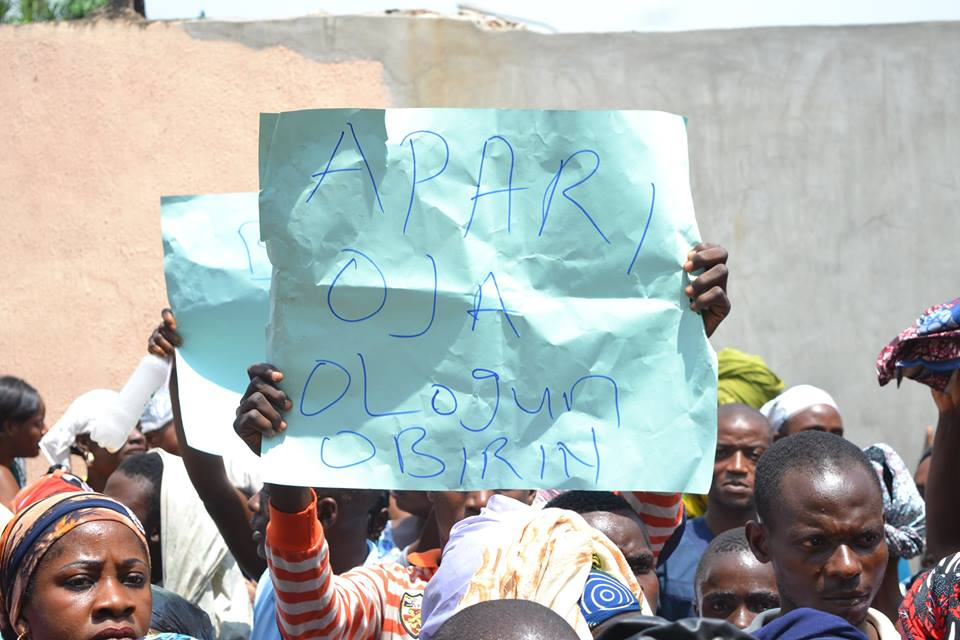 Deji Appeal To Protesting Traders In Akure