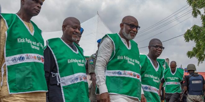Akeredolu reiterates commitment to quality, affordable healthcare services