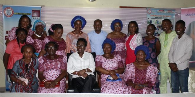 BRECAN members hold surprise reception for their founder