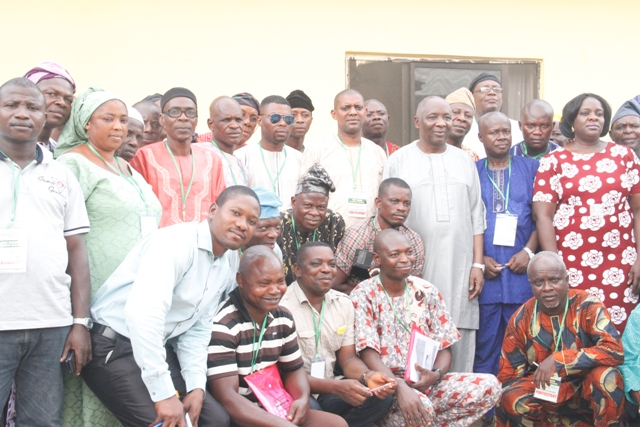 Omogbehin trains, empowers 60 farmers, traders through constituency project